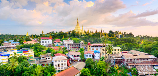 Cheap Flight to Yangon