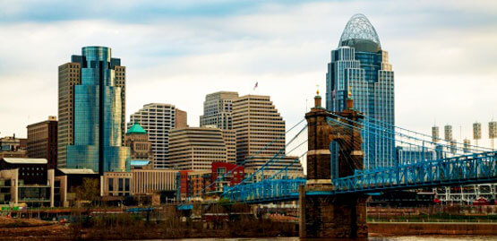 Cheap flights to Cincinnati