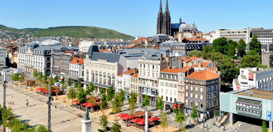 Cheap flights to Clermont-Ferrand