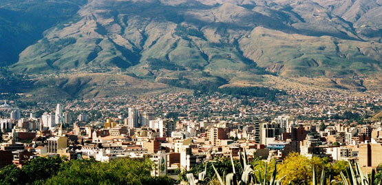 Cheap flights to Cochabamba