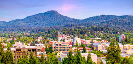 Cheap flights to Eugene