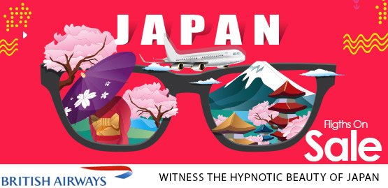 Cheap Flight to Japan With British Airways