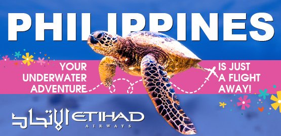 Cheap Flight to Philippines with Etihad Airways