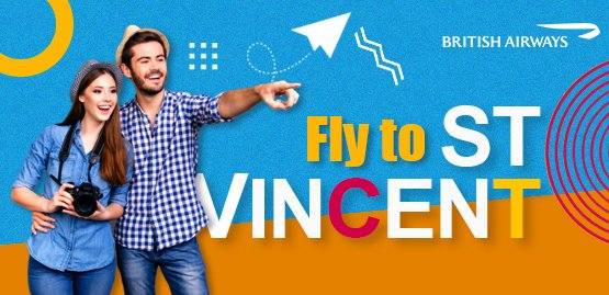 Cheap Flight to Saint Vincent with British Airways