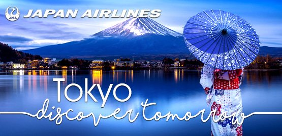 Cheap Flight to Tokyo With Japan Airlines