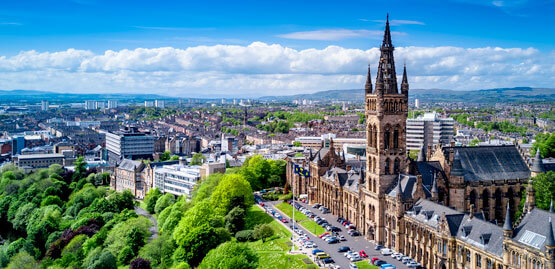 Cheap flights to Glasgow