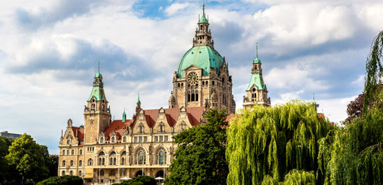 Cheap flights to Hanover