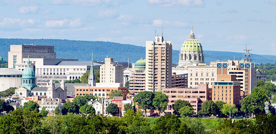 Cheap flights to Harrisburg