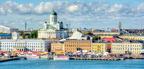 Cheap flights to Helsinki