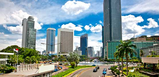 Cheap flights to Jakarta City