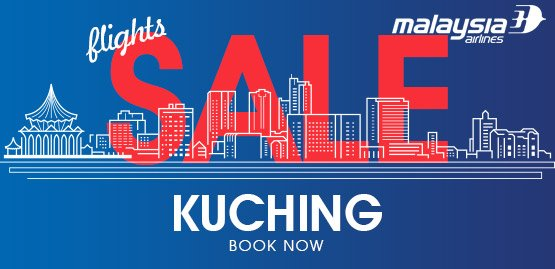 Cheap flights to Kuching