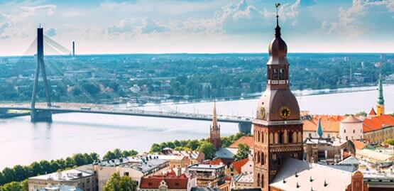 Cheap flights to Latvia