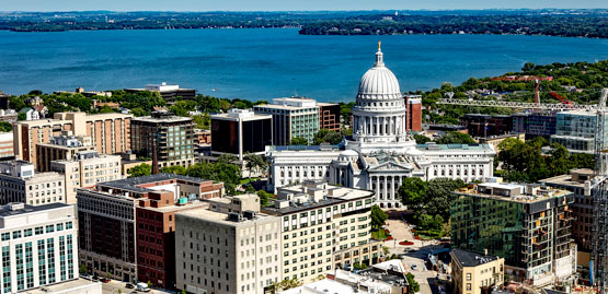 Cheap flights to Madison