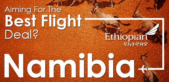 Cheap flights to Namibia