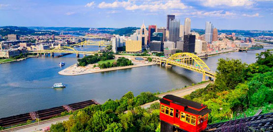 Cheap flights to Pittsburgh