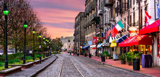 Cheap flights to Savannah